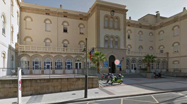 Hospital General de La Rioja en Logroño.