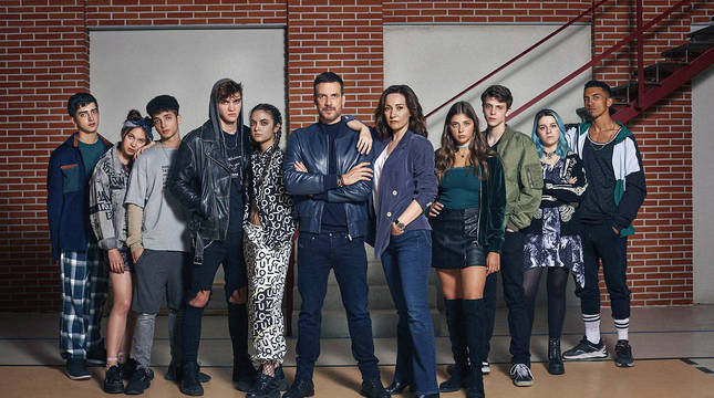 Elenco de la nueva serie de RTVE 'HIT'.