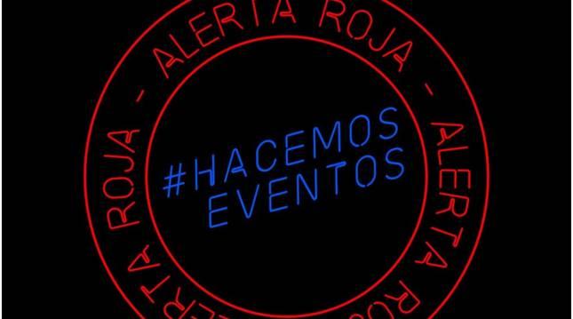 Logo del movimiento Alerta Roja utilizado en España este 17 de septiembre