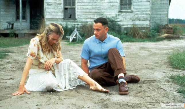 Una escena de la película 'Forrest Gump'.