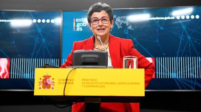 Foto de la ministra de Asuntos Exteriores, Unión Europea y Cooperación, Arancha González Laya.