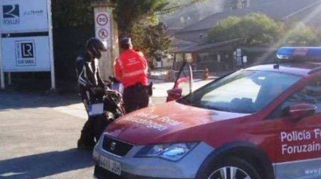 Motorista denunciado por velocidad en Zubiri (N135).