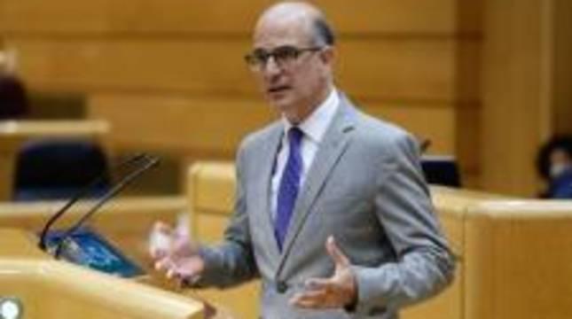 El senador de UPN, Alberto Catalán.