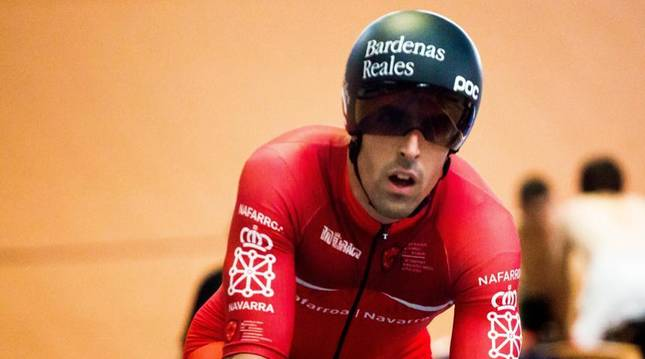 Juan Peralta, campeón de España de Velocidad en Tafalla