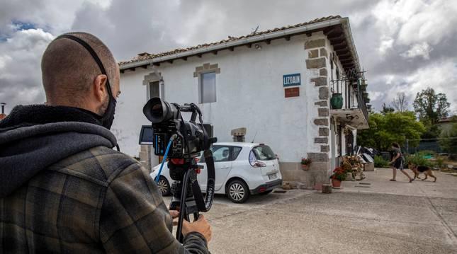foto de Lizoáin, epicentro del terremoto del 30 de agosto que se dejó notar en la comarca de Pamplona.