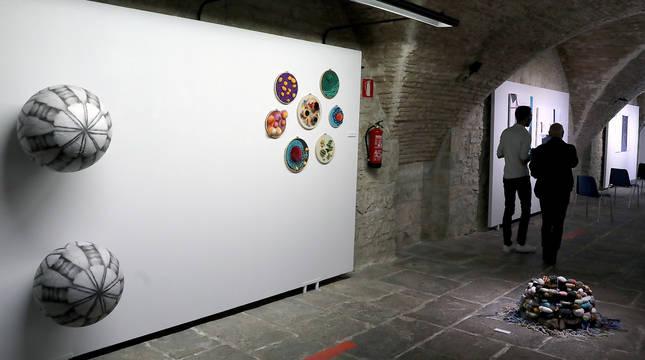 Exposición en el Pabellón de Mixtos.