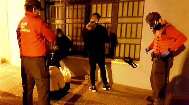 Policía Foral propone 78 denuncias por botellones o no llevar mascarilla