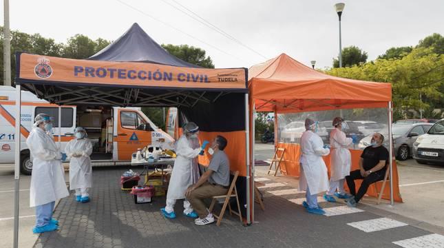 El cribado que se realizó la semana pasada en Tudela ha  dado como resultado 4 positivos de un total de 507 PCR realizados