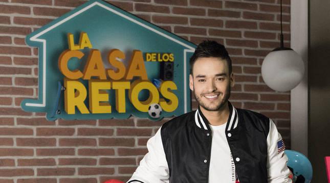 El presentador David Moreno, nuevo fichaje del programa ' La casa de los retos'.
