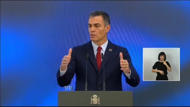 Vídeo: Sanchez anuncia que el Plan de Recuperación movilizará 72.000 millones hasta 2023
