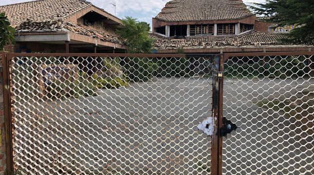 A pesar de permanecer cerrado e incluso de haber tapiado puertas y ventanas, todo hace indicar que el convento sigue siendo objeto de actos vandálicos.