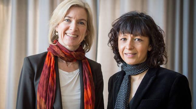 Nobel de Química para dos científicas por reescribir el código de la vida
