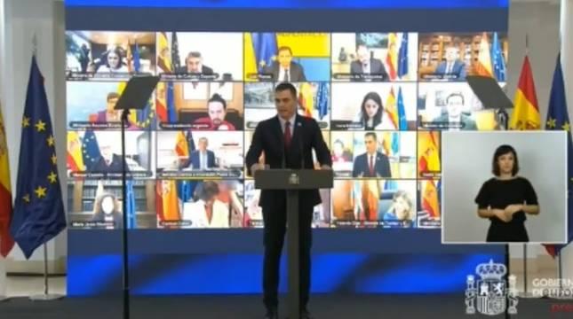 Sánchez avanza que los fondos europeos subirán 2,5 puntos el PIB y crearán 800.000 empleos