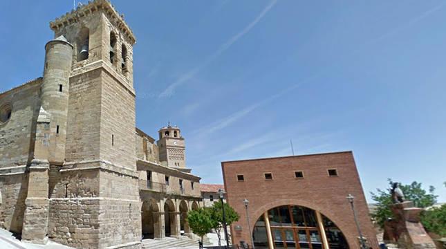 Iglesia de la Asunción de Miranda de Arga.