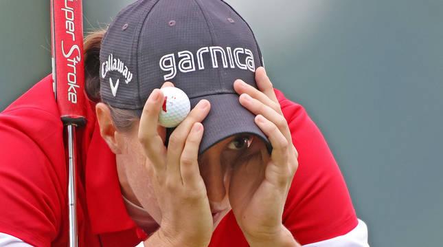 Foto de la golfista Carlota Ciganda.