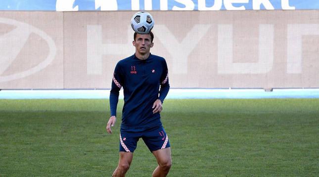 Foto del futbolista Ante Budimir.