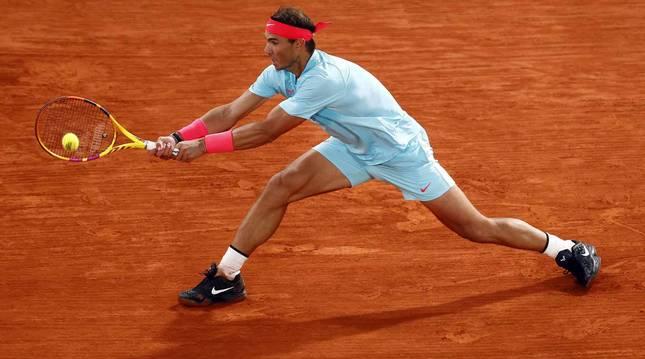 Galería de fotos de la victoria de Rafa Nadal ante Novak Djokovic en Roland Garros. El tenista balear suma su 13º triunfo en París.