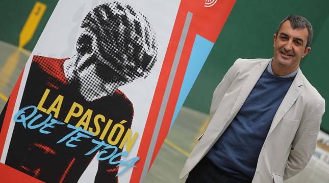 Foto de Javier Guillén, director de la Vuelta a España.