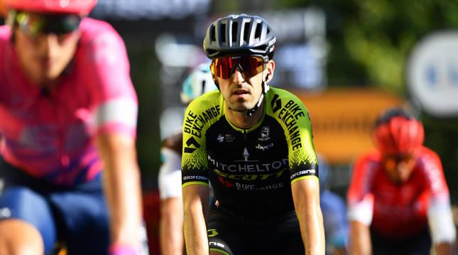 El ciclista Adam Yates, del Mitchelton-Scott, durante una etapa del pasado Tour de Francia.