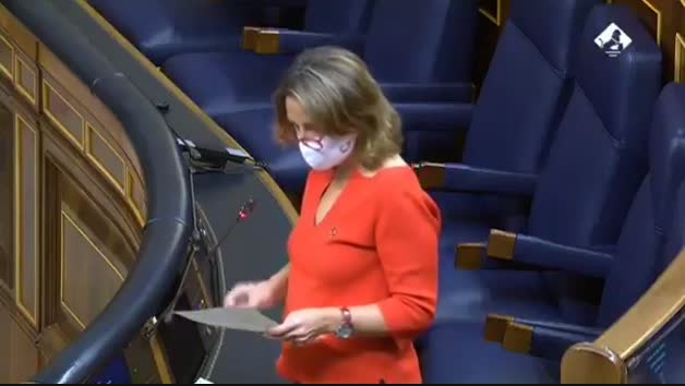 Teresa Ribera anuncia la paralización de Yesa