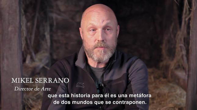 El pamplonés Mikel Serrano habla sobre su trabajo en Akelarre