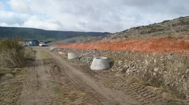Inicio de las obras de construcción de la depuradora de Meoz.