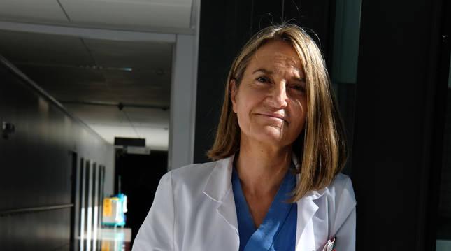 La psicóloga Yolanda Santesteban, el viernes.