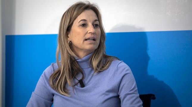 Yolanda Erro García, docente y vicepresidenta del sindicato AFAPNA.