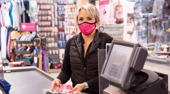 E.Leclerc Pamplona se une a la lucha contra el cáncer de mama