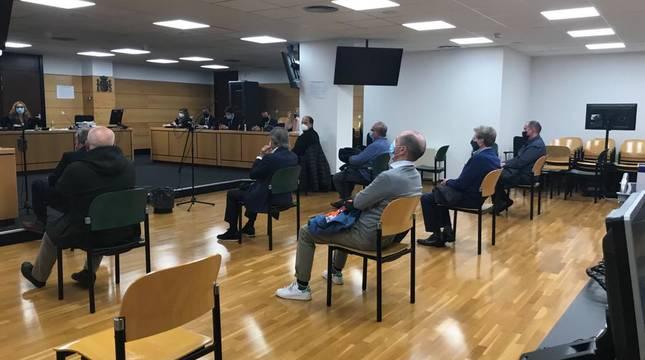 Suspendido el juicio por delito fiscal a la directiva de Osasuna de 2013