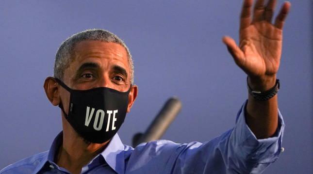 El expresidente de Estados Unidos Barack Obama.