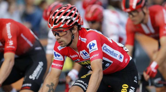 La presencia de Carrefour en La Vuelta se remonta al año 2013.