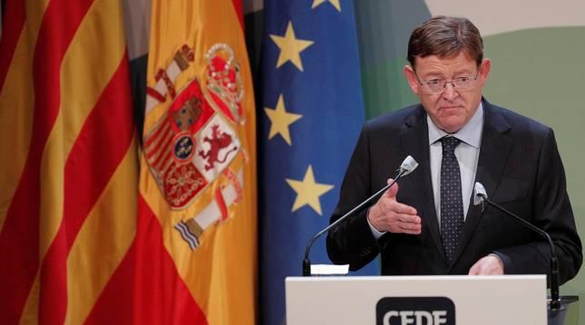 Foto del president de la Generalitat, Ximo Puig.