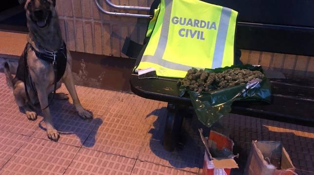 Dos detenidos en Estella y Corella por tráfico de drogas