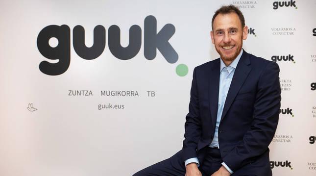 Juanan Goñi, consejero delegado de Guuk.
