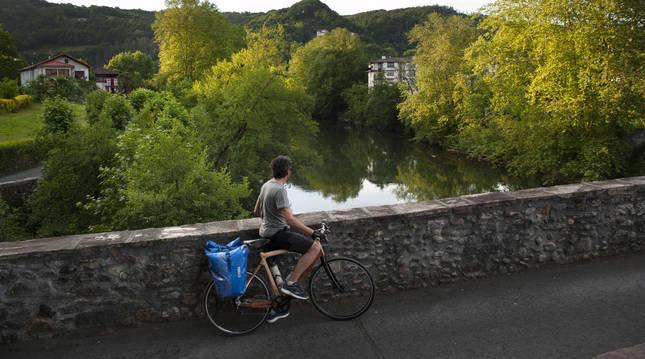 La Comunidad Foral se posiciona como destino preferente para el cicloturismo.