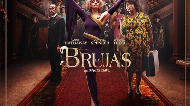Anne Hathaway protagoniza la nueva adaptación de 'Las Brujas', basada en la novela de Roald Dahl.