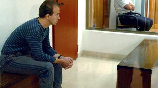 El etarra José Ignacio Guridi Lasa, en un juicio en la Audiencia Nacional en 2004.