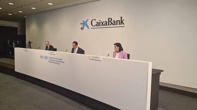 Caixabank presenta resultados del tercer trimestre con su consejero delegado, Gonzalo Gortázar
