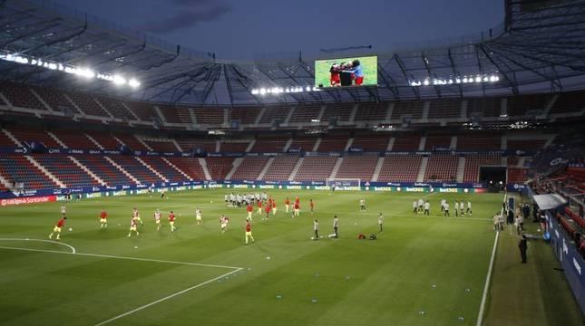 Sigue la narración minuto a minuto del Osasuna-Atlético en directo