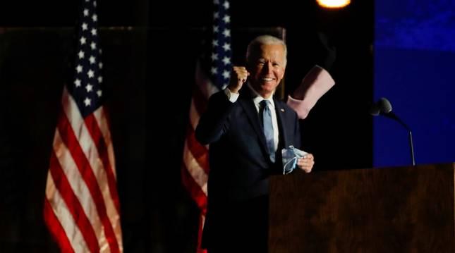 Foto del candidato demócrata, Joe Biden.