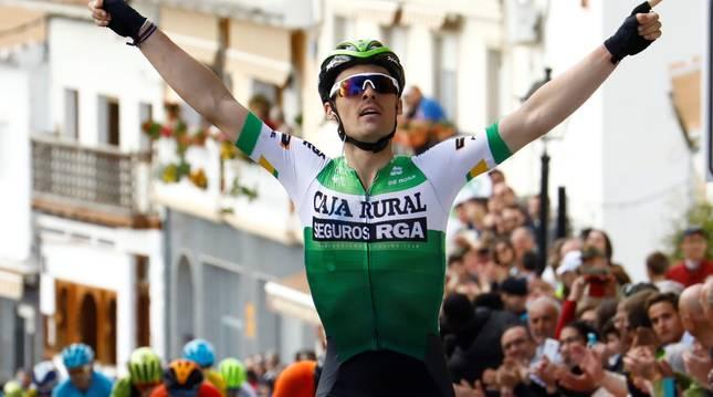 Gonzalo Serrano se impuso en la rampa de Iznajar en febrero.