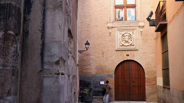 Fachada del Palacio Decanal, sede del Museo de Tudela.