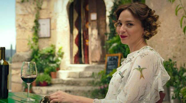 Leonor Watling, en la serie Nasdrovia.