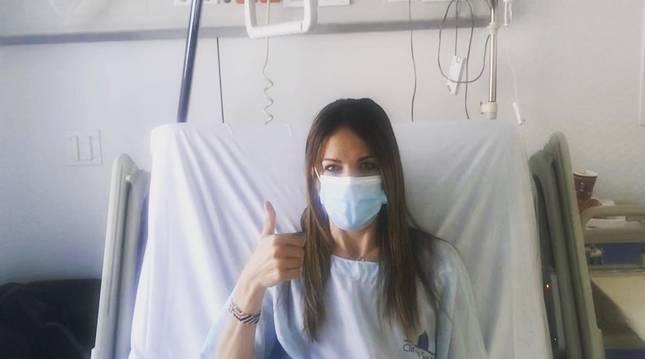 Maitane Melero pasa por el quirófano tras una fractura de menisco