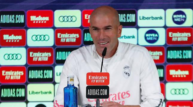 Comparecencia de Zinèdine Zidane este sábado 7 de noviembre.