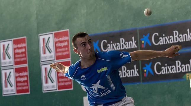 Foto del pelotari Joanes Bakaikoa .