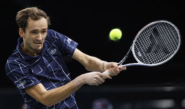Foto del tenista ruso Daniil Medvedev.