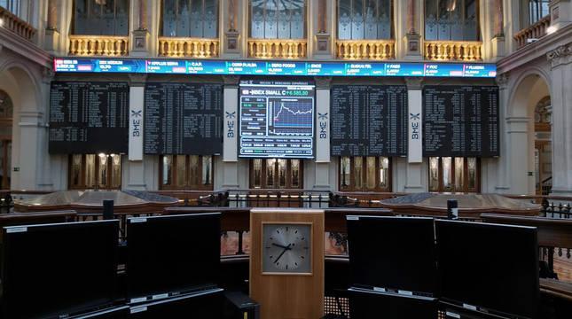 La Bolsa de Madrid abre con alzas del 1,48% tras el triunfo de Biden