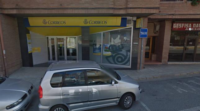 Oficina de Correos en San Adrián.